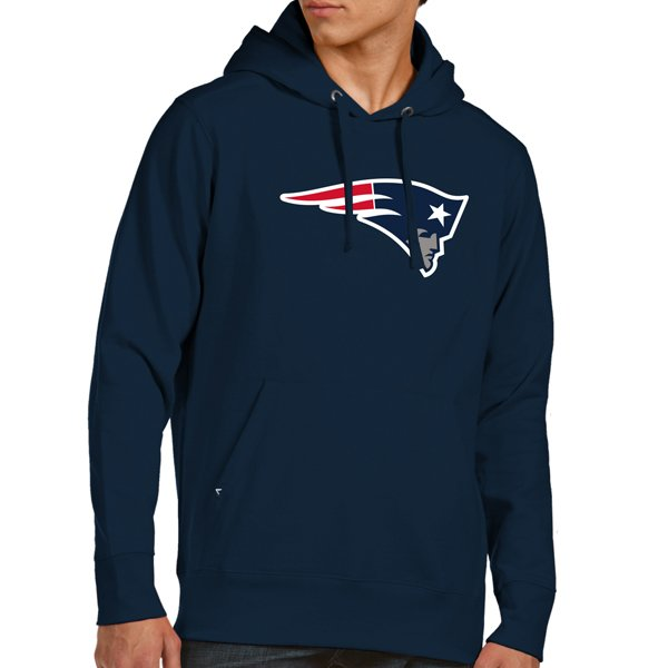 Antigua Sign Pullover Hood-Navy