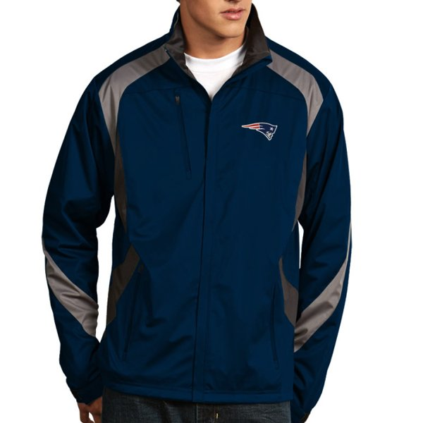 Antigua Tempest Full Zip Jacket-Navy