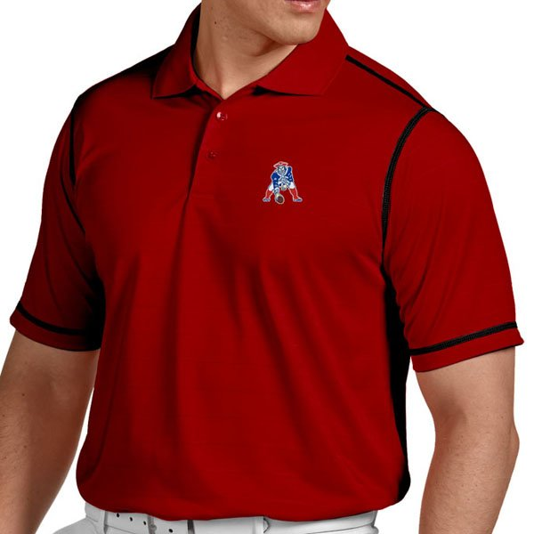 Patriots Throwback Icon PoloRed