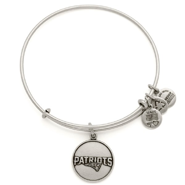 Alex and Ani Wordmark Logo Bangle-Rafaelian Silver Finish