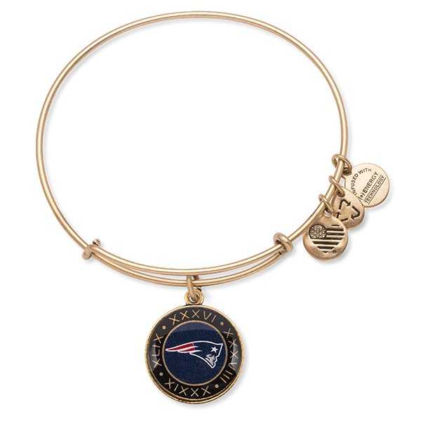 Alex and Ani On The Fifty Bangle-Rafaelian Gold Finish