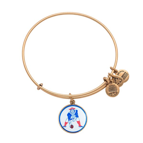 Alex and Ani Throwback Bangle-Rafaelian Gold Finish
