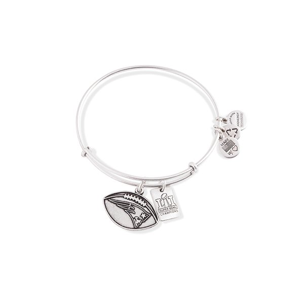 Alex + Ani Super Bowl LI Bangle-Silver