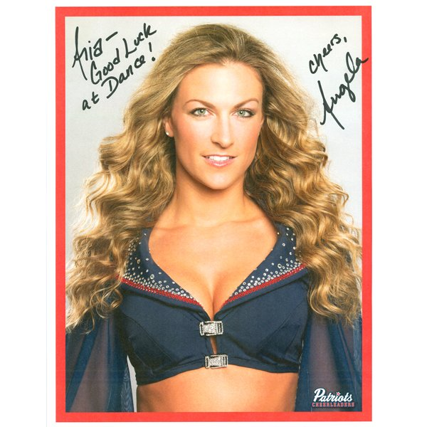 Angela Autographed 2013 Head Shot Photo