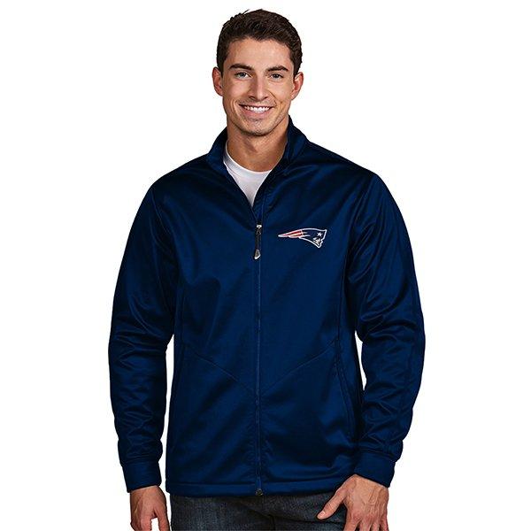 Antigua Aaron Full Zip Jacket-Navy