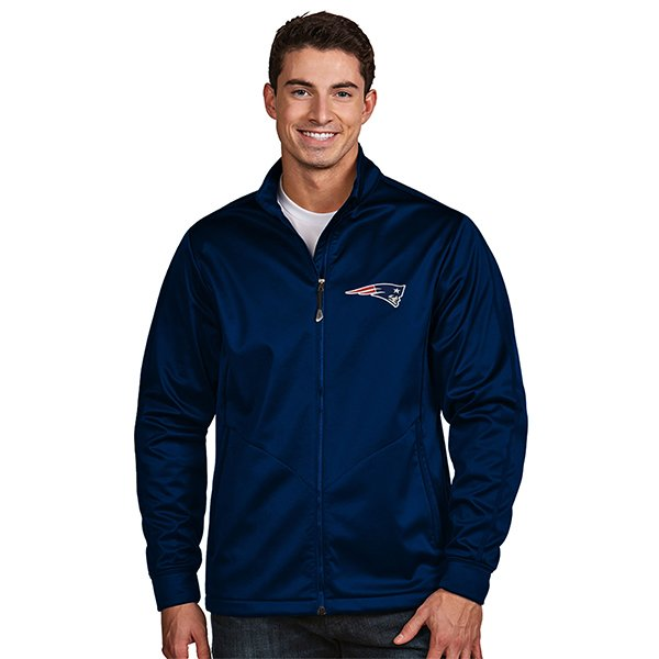 Antigua Aaron Full Zip Jacket-Navy