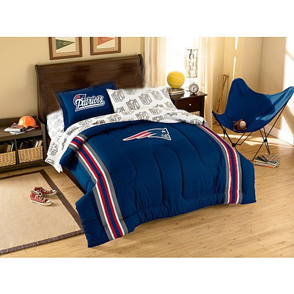 Patriots Twin Bed Set 64x86