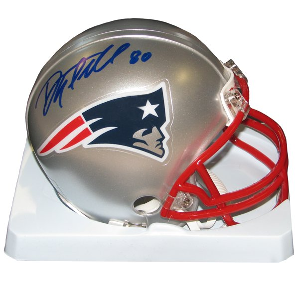 Danny Amendola Signed Mini Helmet