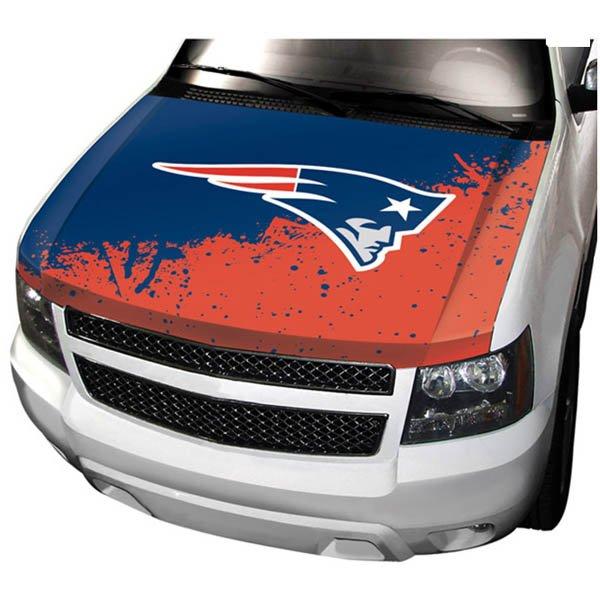 Patriots Auto Hood Cover