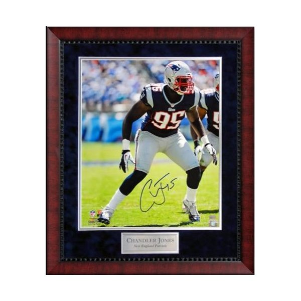 Chandler Jones Autographed Framed Photo