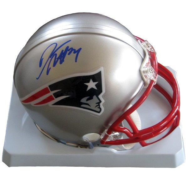 Autographed Darrelle Revis Mini Helmet