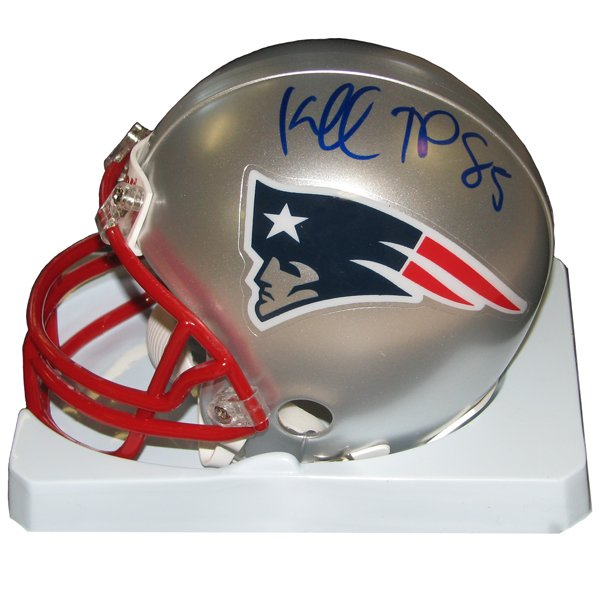 Kenbrell Thompkins Signed Mini Helmet