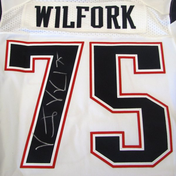 Vince Wilfork Autographed Nike Elite Jersey-White