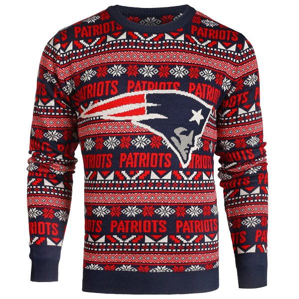 Patriots Aztec Ugly Sweater