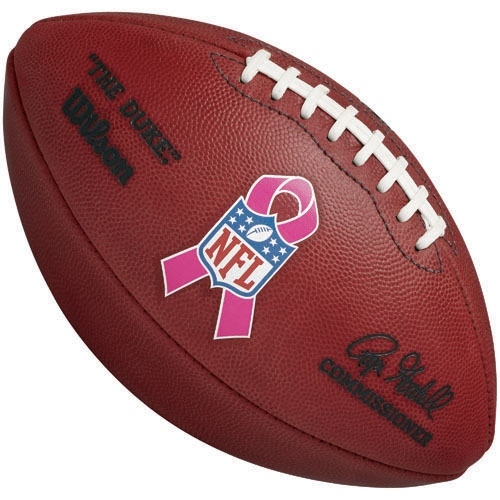 Official NFL Pink Ribbon BCA Football