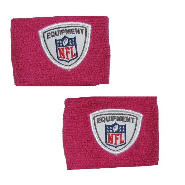 NFL BCA Pink Wristbands