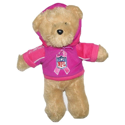 Breast Cancer Awareness Pink Hoody Bear