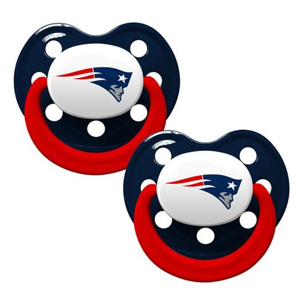 Patriots Pacifier 2-Pack