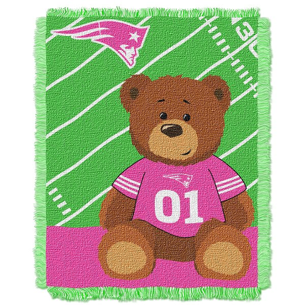 Pats Baby Blanket-Pink