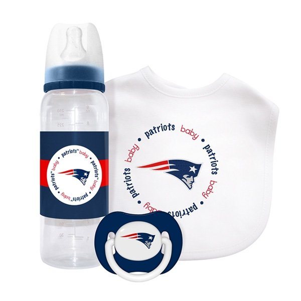 Patriots Baby 3 Piece Gift Set
