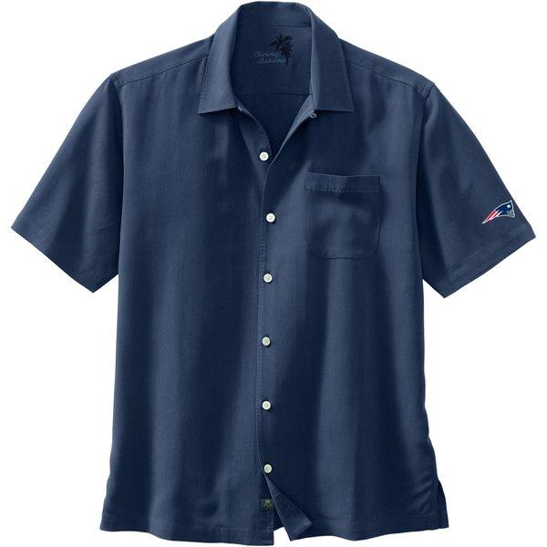 Patriots Tommy Bahama Carolina Twill Camp-Blue