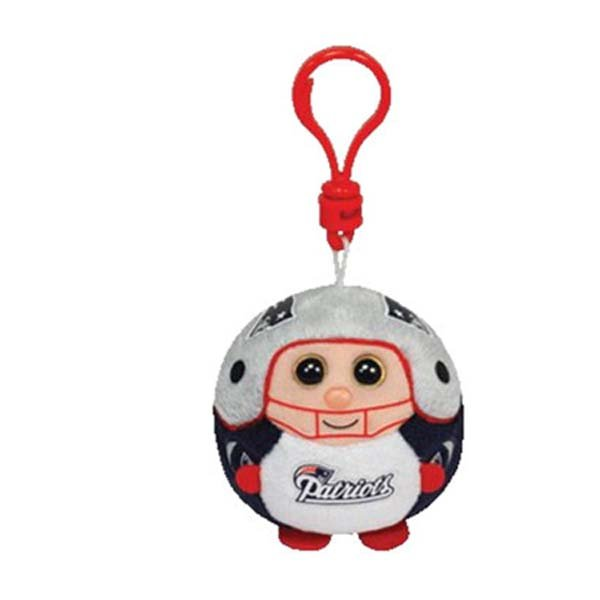 Patriots Beanie Balls Clip