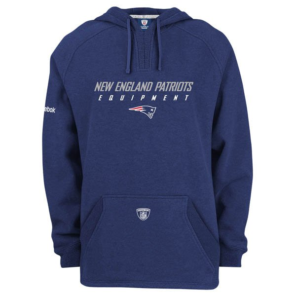 Belichick Equipment Hoodie-Navy