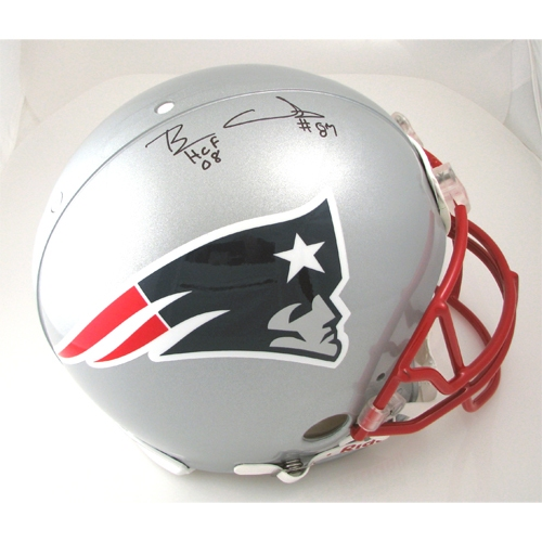 Ben Coates Autographed Authentic Helmet