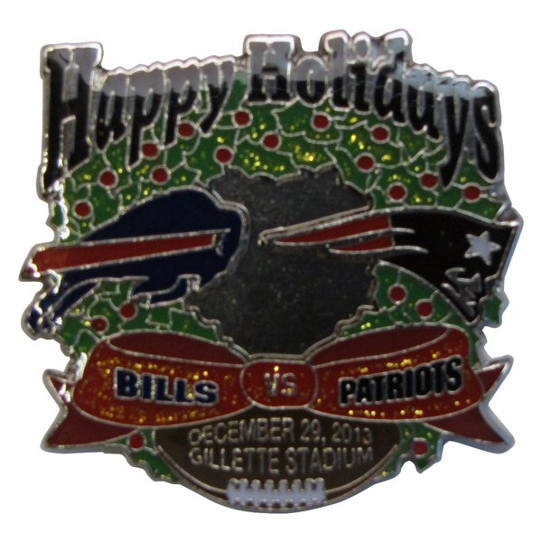 Patriots/Bills Gameday Pin 12-29-13