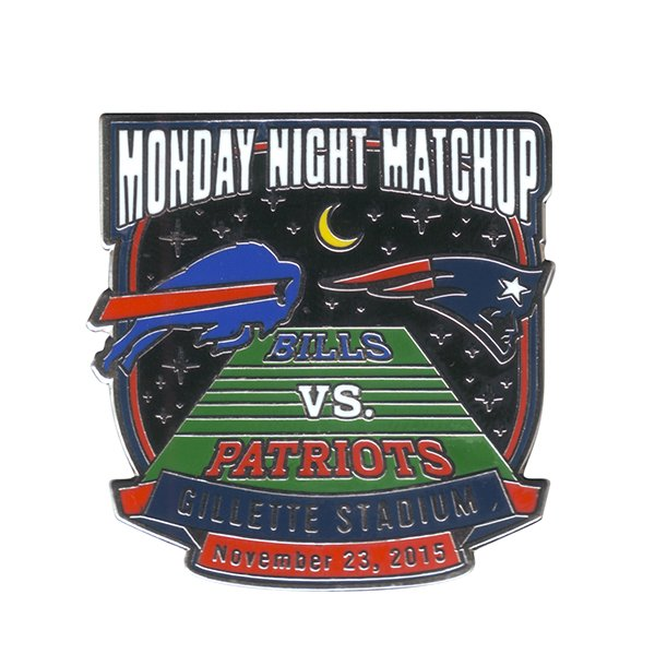 Patriots/Bills Game Day Pin