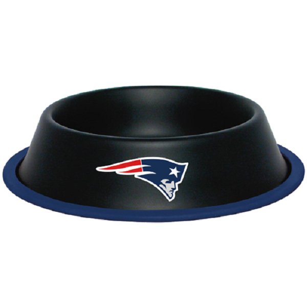 Patriots Black Gloss Pet Bowl