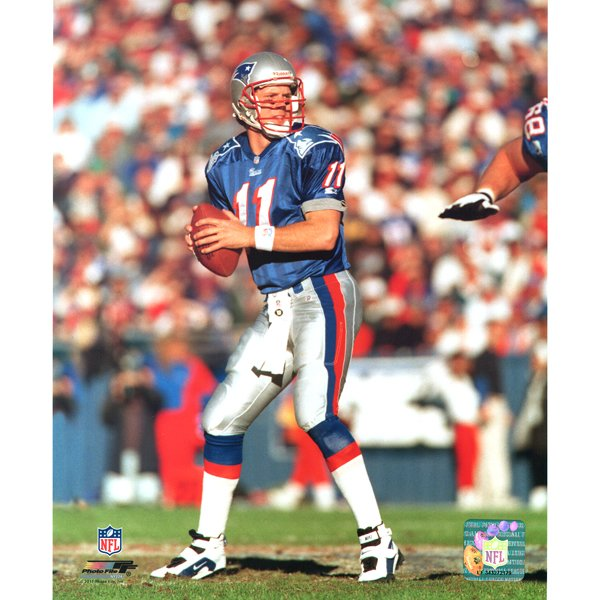 Drew Bledsoe #11 8x10 Carded Photo