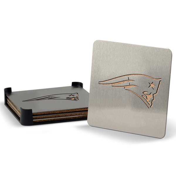 Patriots Boasters Coasters-4pc