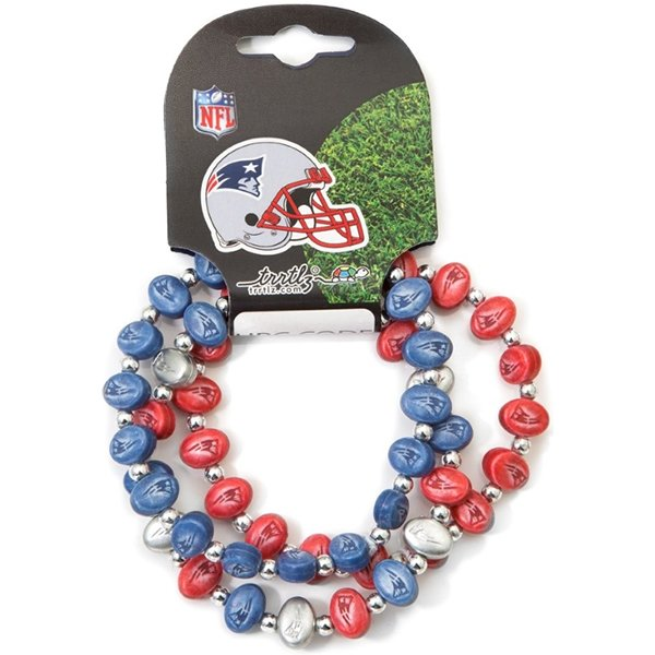 Patriots Logo Bracelet-3pk
