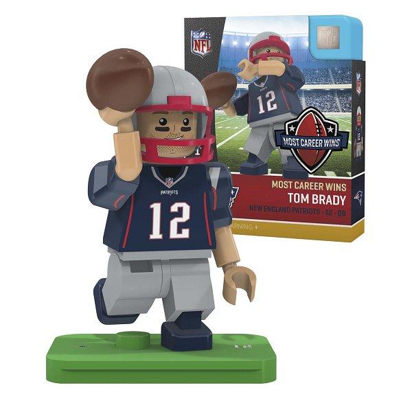 Brady Oyo 201 All Time Wins Patriots Figure