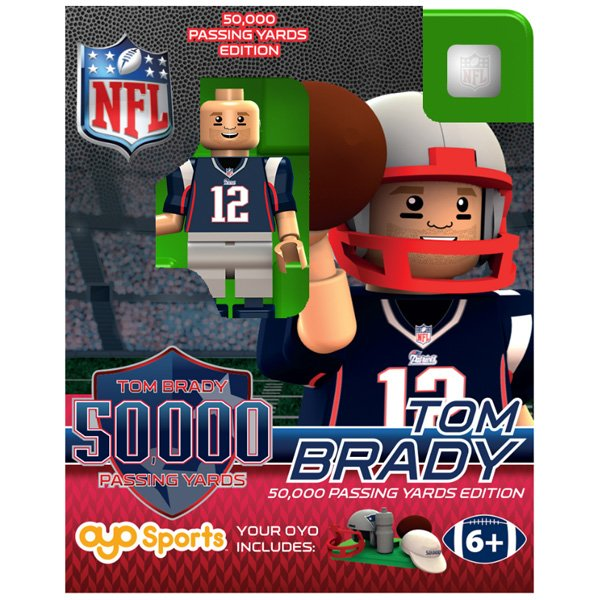 Tom Brady 50K Yards Oyo Figure