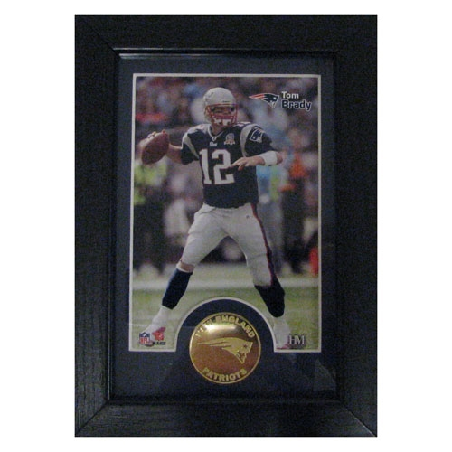 Tom Brady 5x7 Framed Coin
