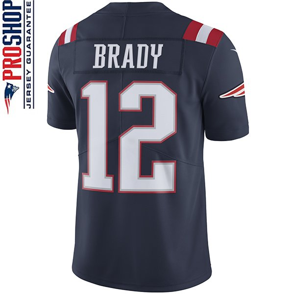 Nike Tom Brady 12 Color Rush Limited JerseyNavy