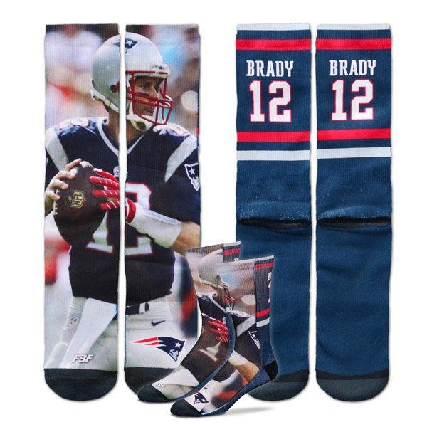 Tom Brady Player Socks