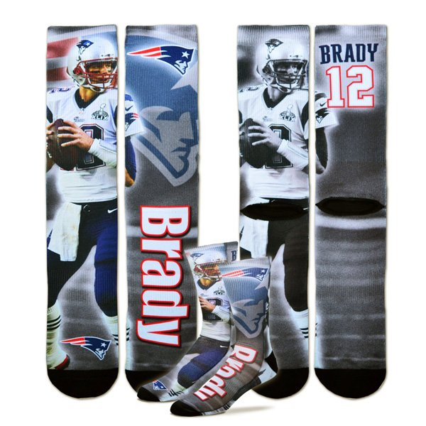 Tom Brady Player Socks