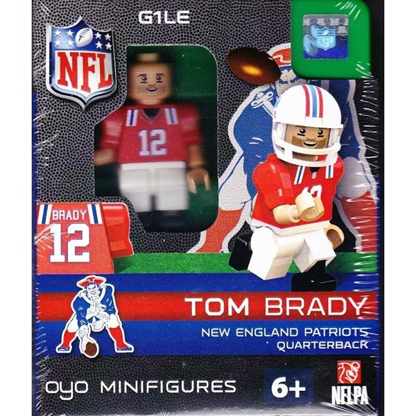 Patriots Tom Brady Throwback Oyo Figure