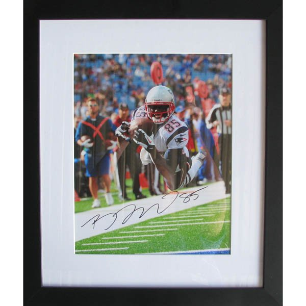 Brandon Lloyd Signed Framed TD Photo 