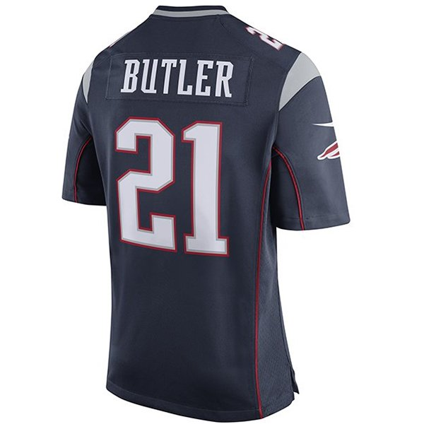 Nike Malcolm Butler #21 Game Jersey-Navy