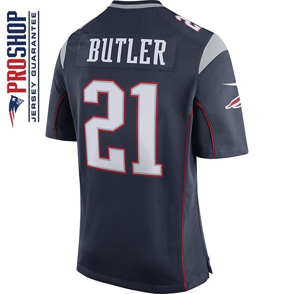 Nike Malcolm Butler #21 Game Jersey-Navy