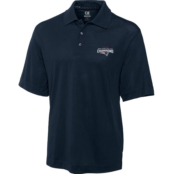 CB 4 Time Super Bowl Champions Polo-Navy