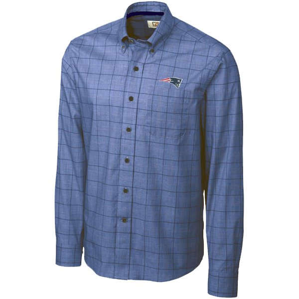 CB Completion Plaid Shirt-Blue