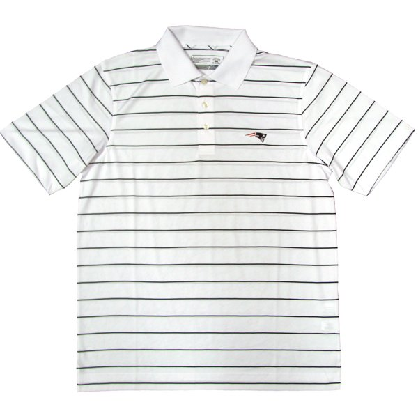 CB DryTech Sweet Stripe Polo-White