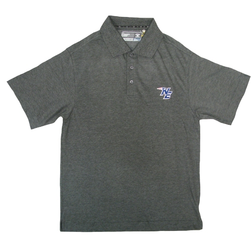 CB NE Logo Polo-Charcoal