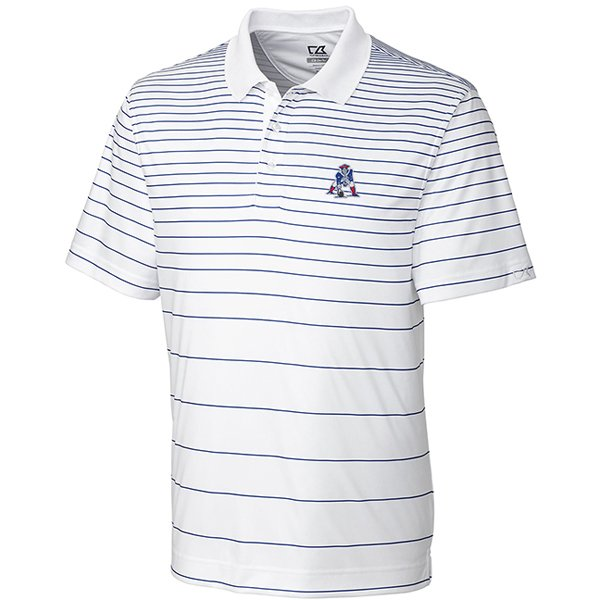 CB Throwback Gatehouse Print Polo-White