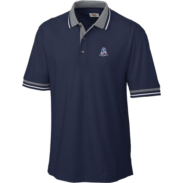 CB Throwback Hook Shot Tipped Polo-Navy